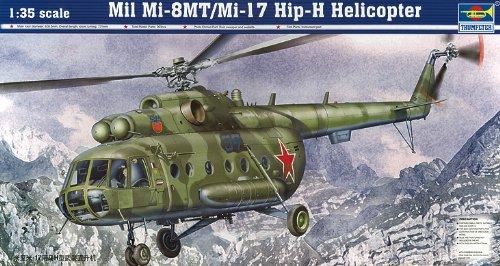 Preisvergleich Produktbild Trumpeter 05102 Modellbausatz Mil Mi-8MT/Mi-17 Hip-H Helicopter