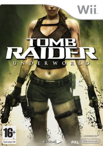 Eidos Tomb Raider Underworld - Juego (Nintendo Wii, Acción / Aventura