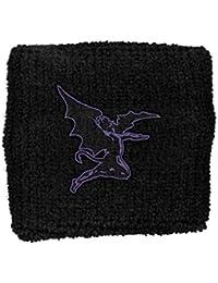 Black Sabbath Sweatband Devil Logo Official Black cotton One Size