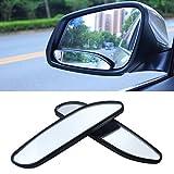 Blind Spot Spiegel, EFORCAR Auto Spiegel Seitenansicht Blind Spot & Wide Mirror Stick auf Auxiliary Winkel verstellbare Auto Rückspiegel Stick-on Design Fit für alle Universal Vehicles (Pack von 2)