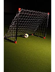 But de foot fun enfant 1,8 x 1,2m - Noir et rouge POWERSHOT®