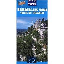 Carte de randonnée : Bessèges- Les Vans