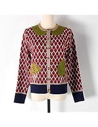 ZHAOZHIGUANG Tejido Sweater Suéter Adhesivos Árbol Pequeño Muñeco De Tela Suéter De Cuello Suéter Niña…