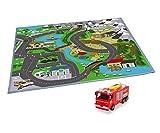 """Dickie Toys 203096004 - Feuerwehrmann Sam Spielmatte """"Land"""""""
