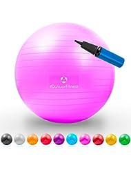 Gymnastik-Ball »Pluto« / Robuster Sitzball und Fitnessball von 55 cm bis 85 cm / verschiedene Größen und Farben