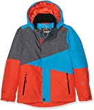 Brunotti Mädchen Idaho JR Boys Snowjacket Jacke, Dark Grey Melee, 164