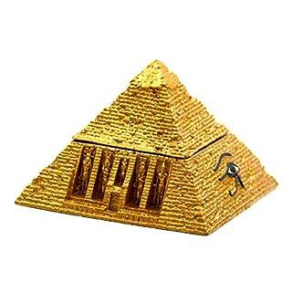 Ars-Bavaria Goldene Pyramide Schrein Tal der Könige Ägypten, Schmuckkästchen