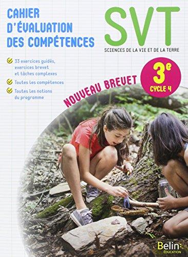 SVT 3e : Cahier d'évaluation des compétences por Collectif