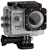 TecTecTec!® WIFI Action Sport Cam Camera Waterproof Full HD 1080p 720p Video Helmetcam with Motion...