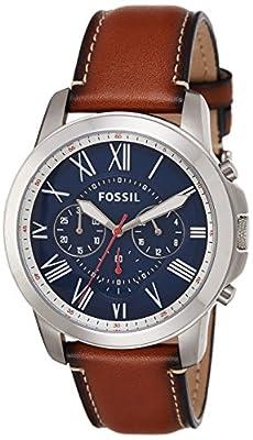 Fossil FS5210 Reloj de Hombres