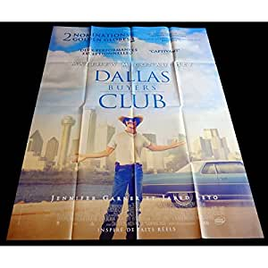 DALLAS BUYER CLUB Affiche de film 120x160-2013 - Matthew McConaughey, Jean-Marc Vallée