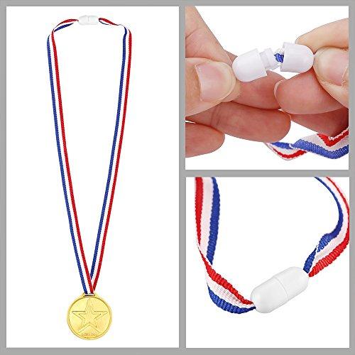 Zoom IMG-2 pllieay 72 pezzi medaglie oro
