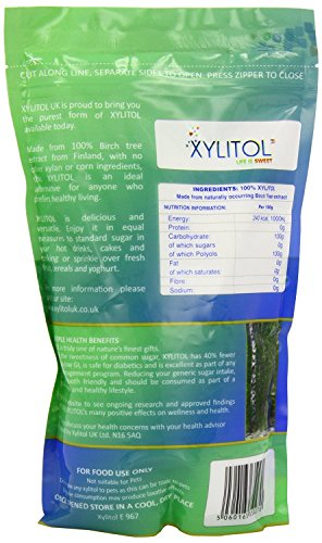 Xylitol Natural Sweetener 1Kg (Pack of 2)