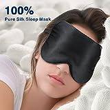 Spencer Sleep Mask super Smooth mascherina per dormire 100% seta di gelso sonno maschera per tutta la notte di sonno Medicina dello sport Ultimate dormire aiuti benda Trattamenti caldo/freddo