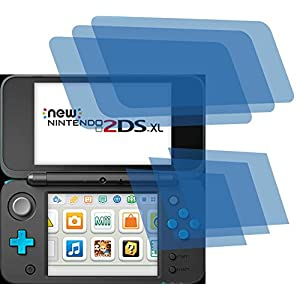4ProTec 6X Crystal Clear klar Schutzfolie für New Nintendo 2DS XL Konsole Premium Displayschutzfolie Bildschirmschutzfolie Schutzhülle Displayschutz Displayfolie Folie