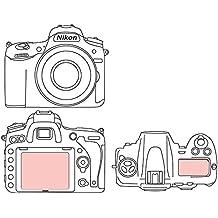 Martin Fields Overlay Plus protector de pantalla con recubrimiento de avanzada de vidrio duro para Nikon (D750)