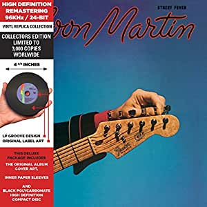 Street Fever - Cardboard Sleeve - High-Definition CD Deluxe Vinyl Replica