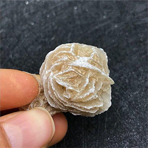 Aitelei pietre naturali di cristallo rosa del deserto reiki guarigione selenite mineral crystal specimen crystal cluster rough mineral specimen figurine scultura per wicca, reiki