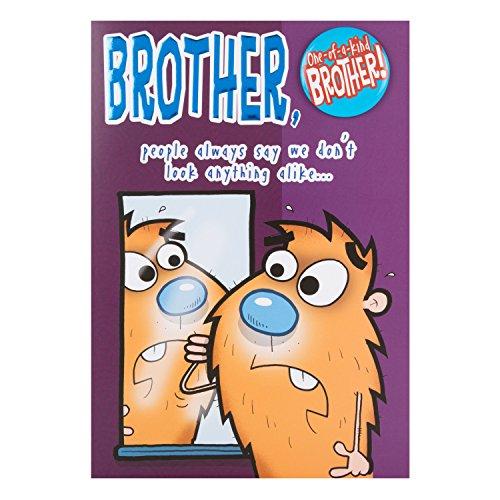 Hallmark Brother Birthday Card