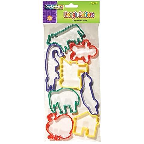 Dough Cutters 8/Pkg-Set 3