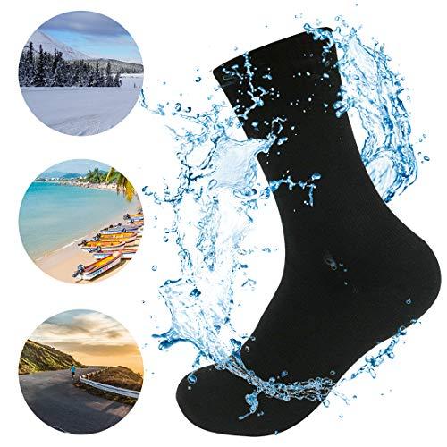 WATERFLY Wasserdichte Socken für Herren und Damen, Professionelle Trekking Tracing Breathable Knöchel Länge Socken Unterwasser für Sport Im Freien Wandern Reisen Klettern Laufen Motorrad - Im Sport Freien