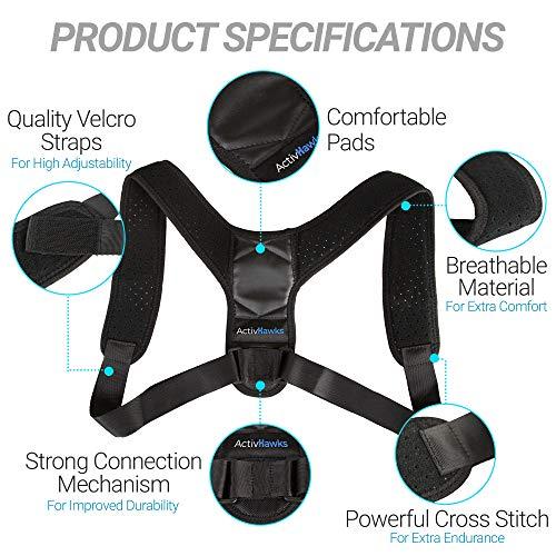 Zoom IMG-3 activhawks correttore di postura schiena