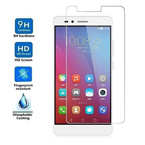 Electrónica Rey Protector de Pantalla para Huawei Honor 5X, Cristal Vidrio Templado Premium
