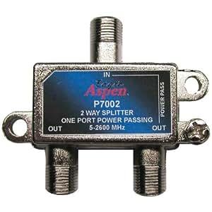 eagle aspen p7002 2 way 2600 mhz splitter. Black Bedroom Furniture Sets. Home Design Ideas