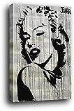 Marilyn Monroe Cartel Montado En Madera - con Faldas Y A Lo Loco, Loui Jover (91 x 61cm)