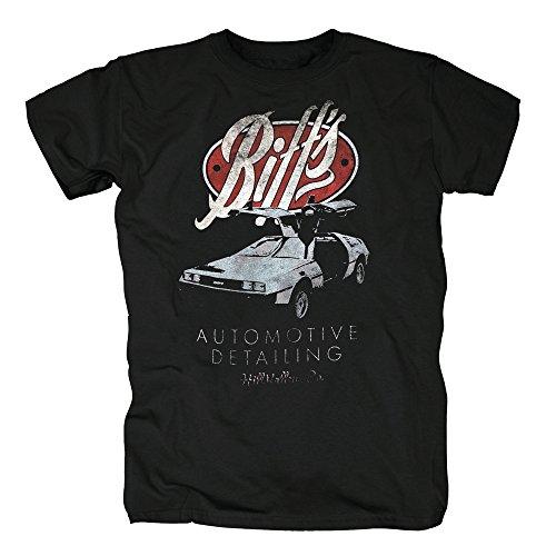 TSP Zurück in die Zukunft - Biff Automotive T-Shirt Herren S (Kostüm Marty Mcfly Hoverboard)
