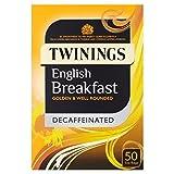 Twinings Decaffeinato Bustine Di Tè Colazione Inglese 50 Per Confezione