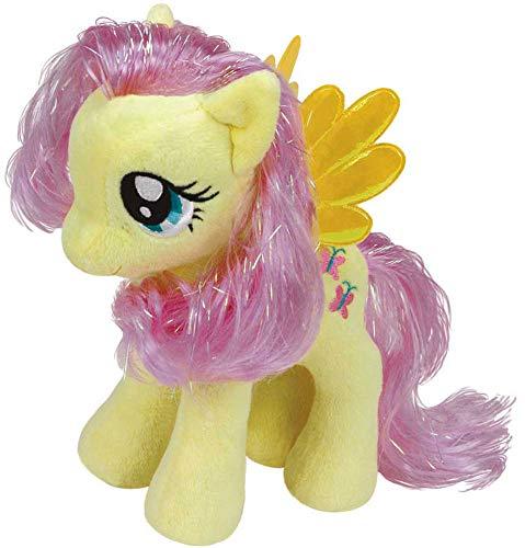 TY 41019 - My Little Pony Baby - Schmusetier Fluttershy, 15 cm (My Little Pony Babys)