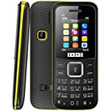 ONEANTWO D2 Dual Sim Basic Feature Mobile Phone (Yellow)