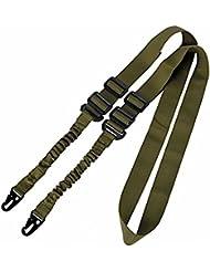 Worldshopping4U Multi-Mission 2-point Tactical Sling Correa Ajustable para el hombro cuerdas Quick Release Standard Edition OD