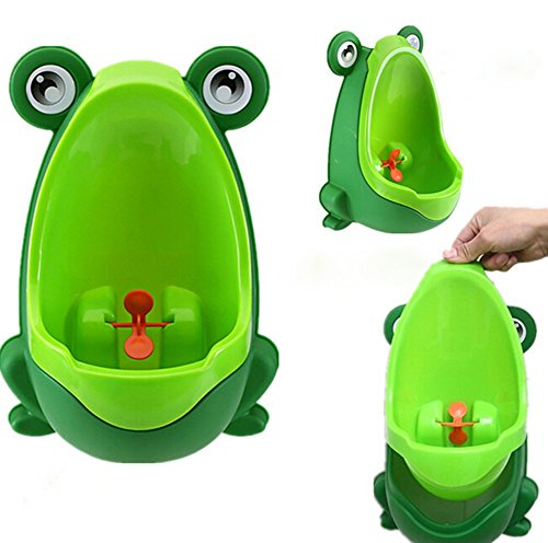 Leisial Grün Kinder Urinal Baby WC-Training Kinder Töpfchen Wand Urinale Kindertöpfchen Toilette Töpfchen Urinal