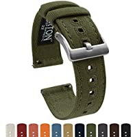 Barton Watch Bands - Correas de tela para reloj de pulsera con cierre rápido - Disponible