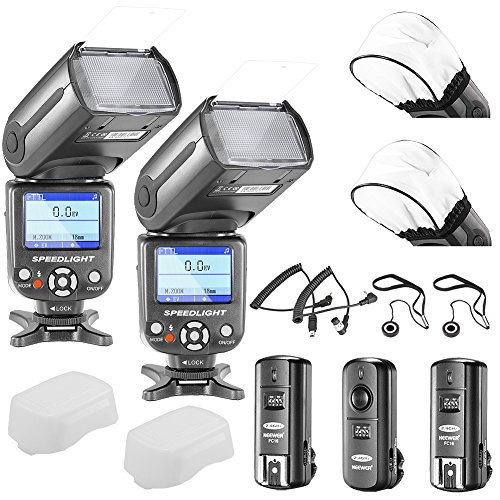 neewerr-nw-985n-i-ttl-4-color-tft-screen-display-high-speed-sync-camera-slave-flash-speedlite-kit-fo