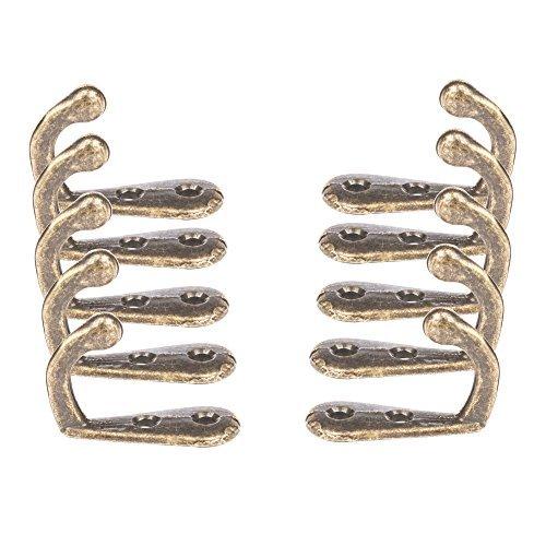 Single Kleiderhaken Bronze (10Pack) bietet Ihnen Stil, Qualität und Kraft in Ihr Hause. Perfekt...
