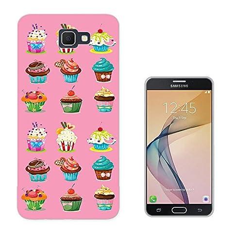 003182 - Cute yummy cupcakes Design Samsung Galaxy J3 SM-J320F Fashion Trend Protecteur Coque Gel Rubber Silicone protection Case Coque