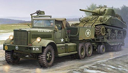 Merit 63502 - Modellbausatz US M19 Tank Transporter With Soft Top Ca (Us-militär-tank)