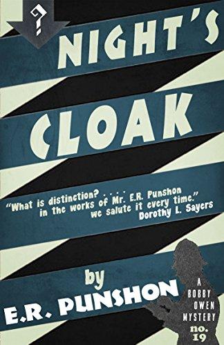 Night's Cloak: A Bobby Owen Mystery (English Edition)