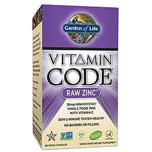 Garden of Life Vitamin Code Zinc 60 Capsules