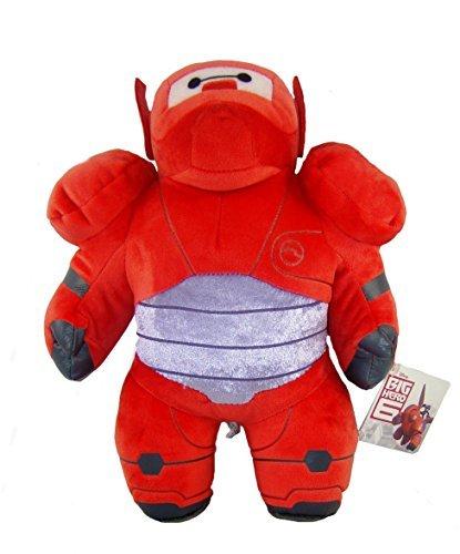 PLÜSCH BAYMAX IN RÜSTUNG ACTION FIGUR BIG HERO-6 30cm QUALITÄT SUPER SOFT - Spielzeug 6 Hero Big