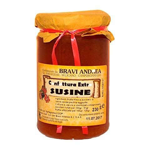 Confettura Extra di Susine 230 g - Salumificio Artigianale Gombitelli - Toscana