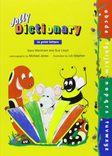 Jolly Dictionary in Print Letters