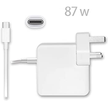 87w usb-c power adapter for iphone x
