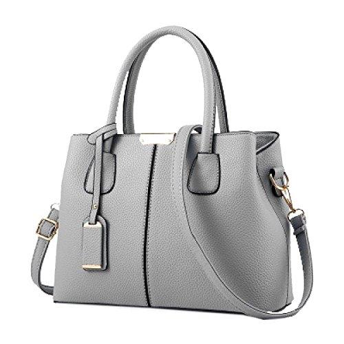 Yy.f New Woman Chao Bag Fashion Big Bag Donna Tracolla A Spalla Borsa Multicolore Borsa Elegante Grigia