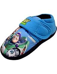 Disney - Zapatillas de estar por casa de Material Sintético para niño Azul azul