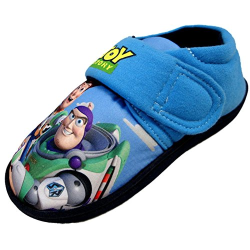 toy-story-enfants-garcons-pantoufle-de-maison-disney-pixar-buzz-leclair-woody-bleu-eu-305