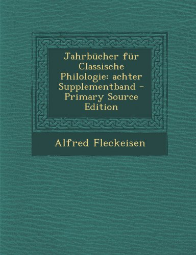 jahrbucher-fur-classische-philologie-achter-supplementband
